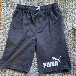 Puma jersey shorts
